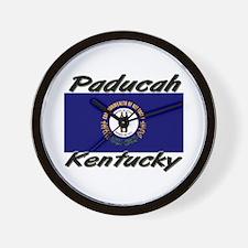 Paducah Kentucky Wall Clock