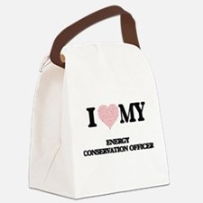 I love my Energy Conservation Off Canvas Lunch Bag