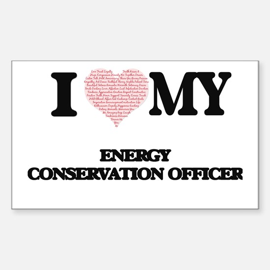 I love my Energy Conservation Officer (Hea Decal