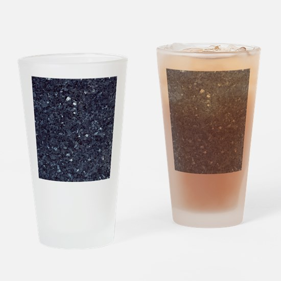 GRANITE BLUE-BLACK 1 Drinking Glass