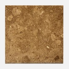 Unique Dark brown Tile Coaster