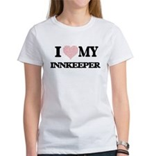 I love my Innkeeper (Heart Made from Words T-Shirt