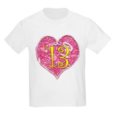 13th Birthday Kids Light T-Shirt