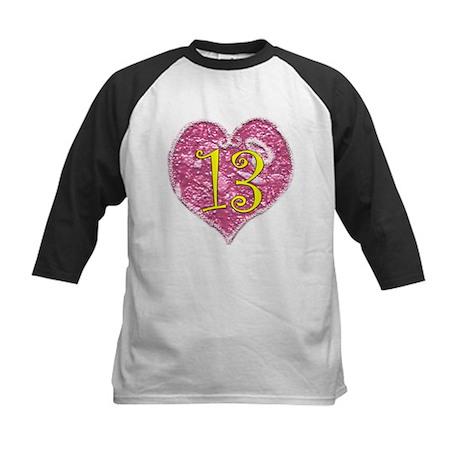 13th Birthday Kids Baseball Jersey