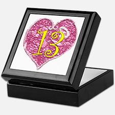 13th Birthday Keepsake Box