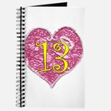 13th Birthday Journal