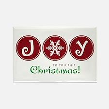 Joy This Christmas Magnets
