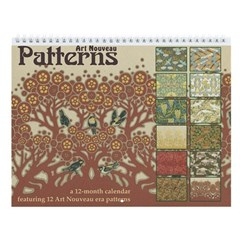 Art Nouveau Patterns Wall Calendar