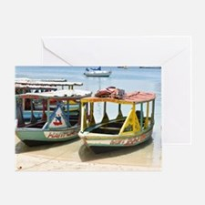 Unique Water taxi Greeting Card