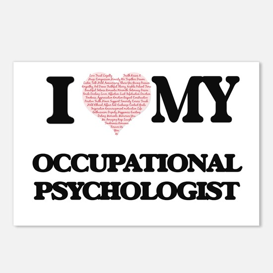 I love my Occupational Ps Postcards (Package of 8)
