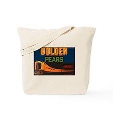 Golden Pears Vintage Crate La Tote Bag