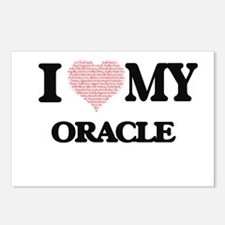 I love my Oracle (Heart M Postcards (Package of 8)