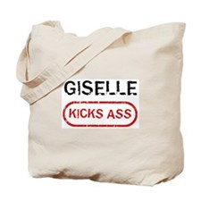 GISELLE kicks ass Tote Bag