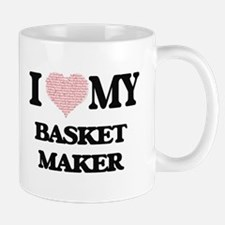 I love my Basket Maker (Heart Made from Words Mugs