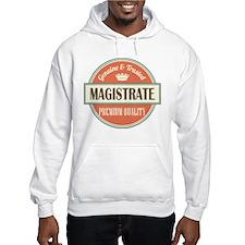 magistrate vintage logo Hoodie