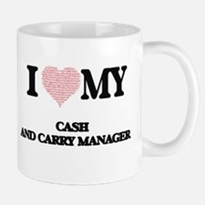 I love my Cash And Carry Manager (Heart Made Mugs
