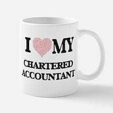I love my Chartered Accountant (Heart Made fr Mugs