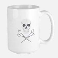 Skull Scissors Mugs
