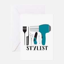 Stylist Tools Greeting Cards