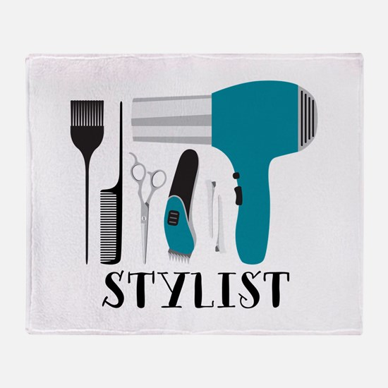 Stylist Tools Throw Blanket