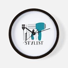 Stylist Tools Wall Clock