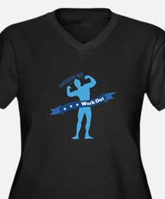 Work Out Plus Size T-Shirt