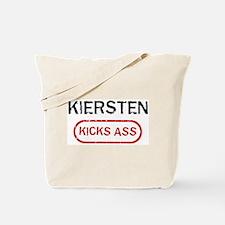 KIERSTEN kicks ass Tote Bag