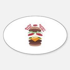 Build Burger Right Decal