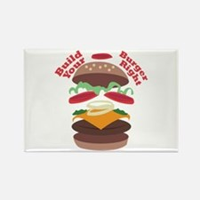 Build Burger Right Magnets