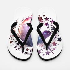 Unicorn Universe Flip Flops