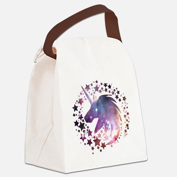 Unicorn Universe Canvas Lunch Bag