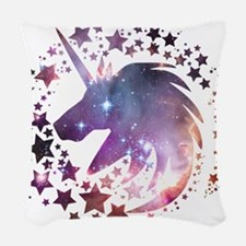 Unicorn Universe Woven Throw Pillow