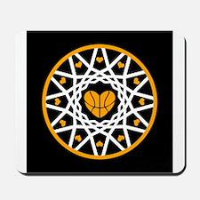 Love Basketball Heart Hoops Original Mousepad