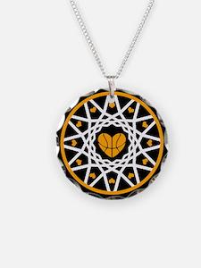 Love Basketball Heart Hoops Necklace