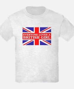 Everyone Loves a British Girl T-Shirt