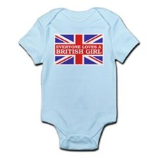 Everyone Loves a British Girl Infant Bodysuit