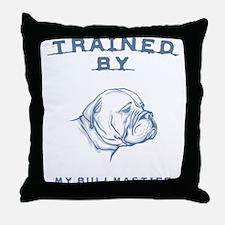 Bullmastiff Throw Pillow