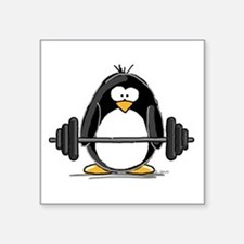 "Cute Lilpenguinshop Square Sticker 3"" x 3"""