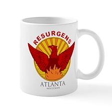 Atlanta Seal-Red Lettering Mugs