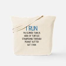 I RUN Tote Bag
