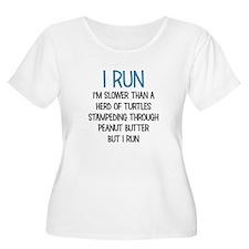 I RUN Plus Size T-Shirt