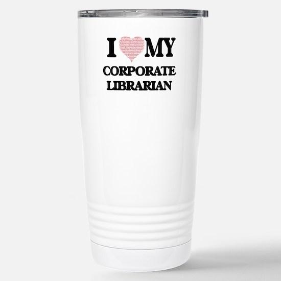 I love my Corporate Lib Stainless Steel Travel Mug