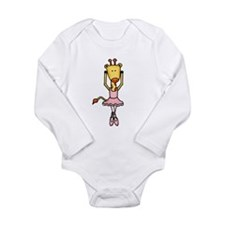 Cute Cartoon animals Long Sleeve Infant Bodysuit