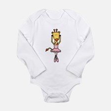 Unique Ballerina Long Sleeve Infant Bodysuit