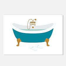Vintage Bathtub Postcards (Package of 8)