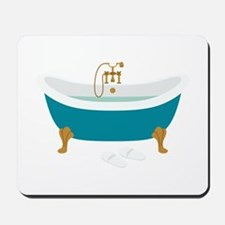 Vintage Bathtub Mousepad