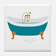 Vintage Bathtub Tile Coaster