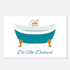 Do Not Disturb Tub Postcards (Package of 8)