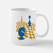 Chess Game Board Magnus Carlsen Art Mugs