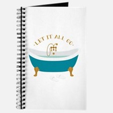 Let It Go Tub Journal